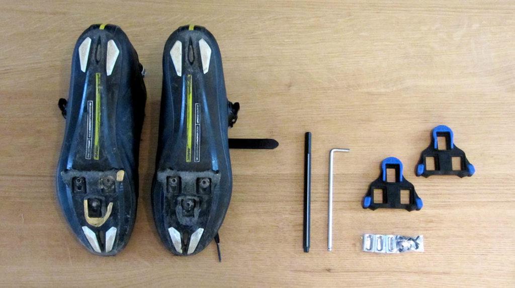 benodigdheden schoenplaatjes vervangen