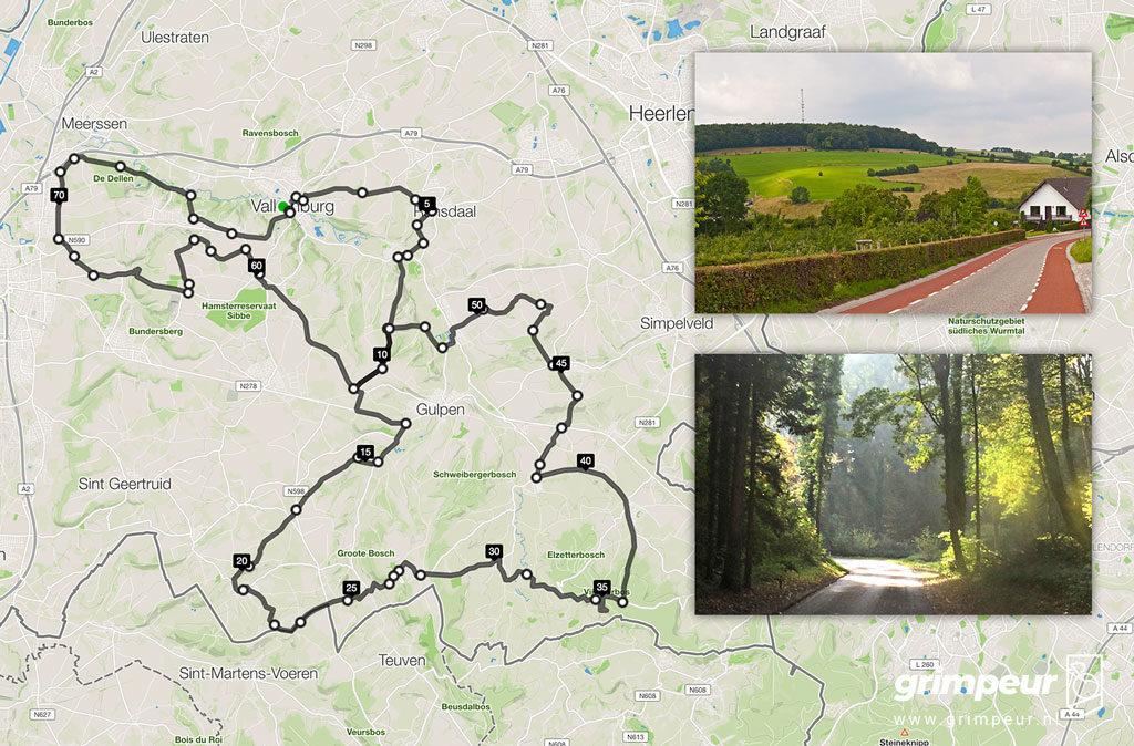 De zwaarste beklimmingen van de Zuid-Limburg