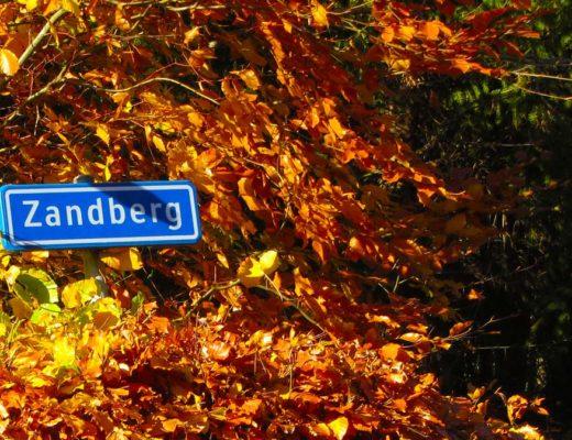De beklimming van de Zandberg Grimpeur