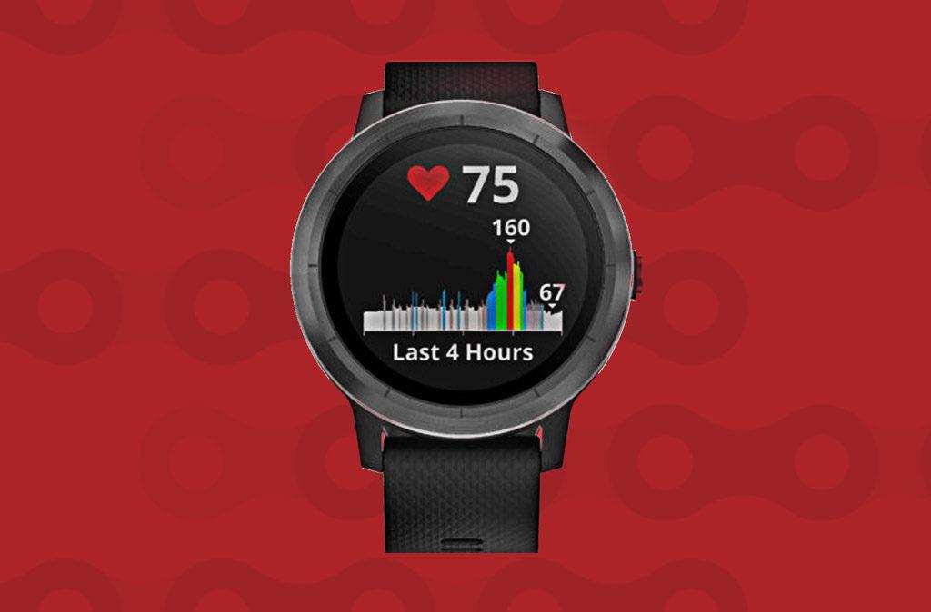 Smartwatch voor wielrenners Garmin Vivoactive 3