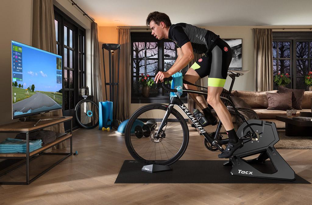 Blijf in conditie op de fietstrainer