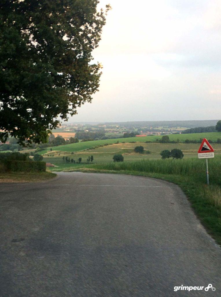 Het uitzicht boven op de Gulperberg