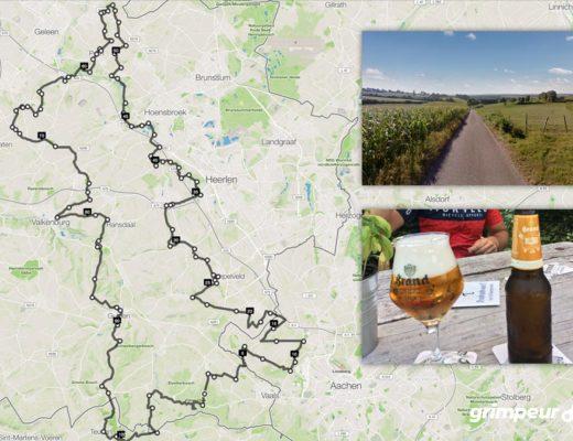 Route: Epen-Sittard-Epen Wielrennen