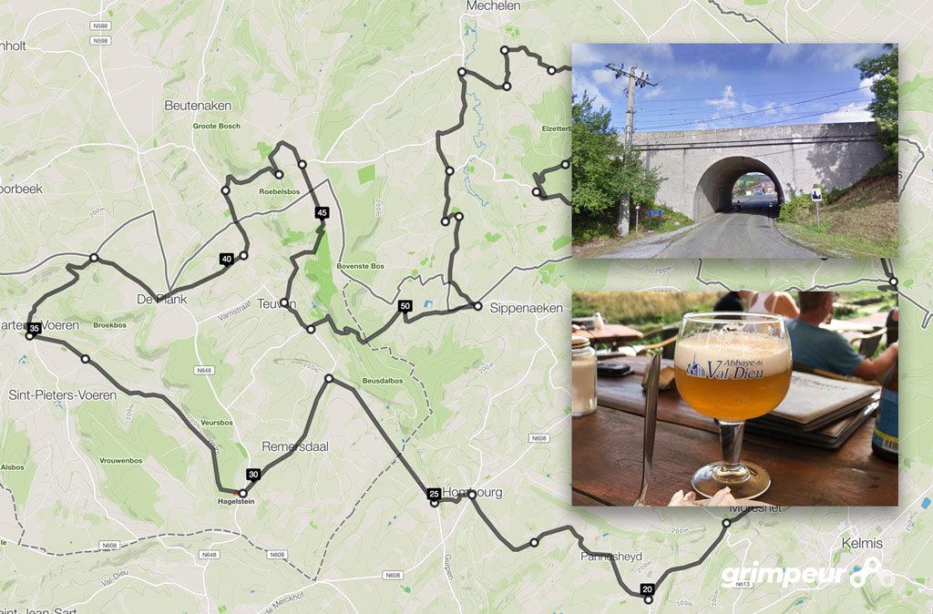Route racefiets Epen Voerstreek