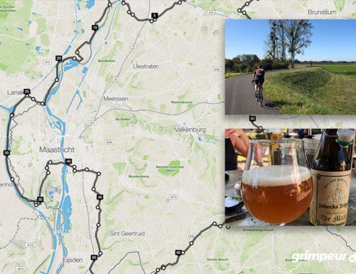 Fietsroute 100 kilometer Zuid-Limburg