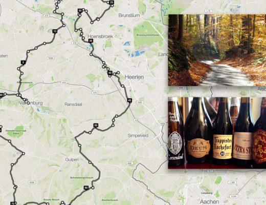 Herfstrit_racefiets_Zuid-Limburg