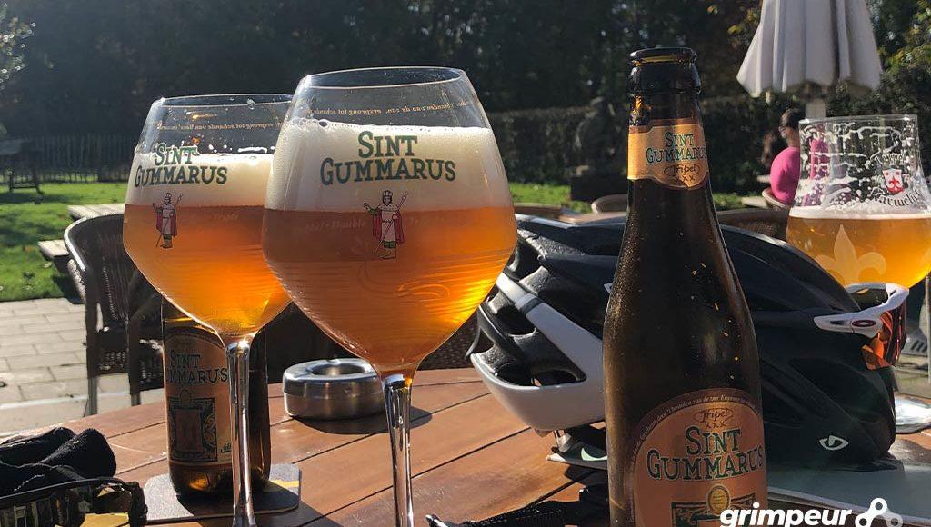 Sint Gummarus Tripel: Voor na het fietsen