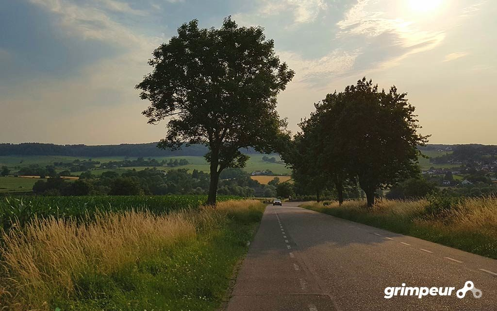 Beklimmingen Zuid-Limburg Fietsroutes