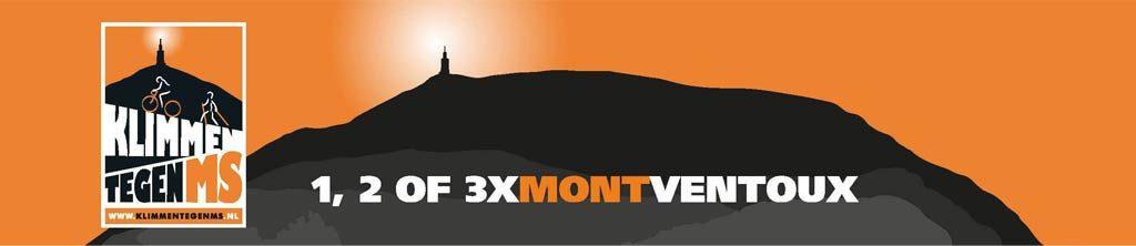 1,2 of 3 x Ventoux, Klimmen tegen MS