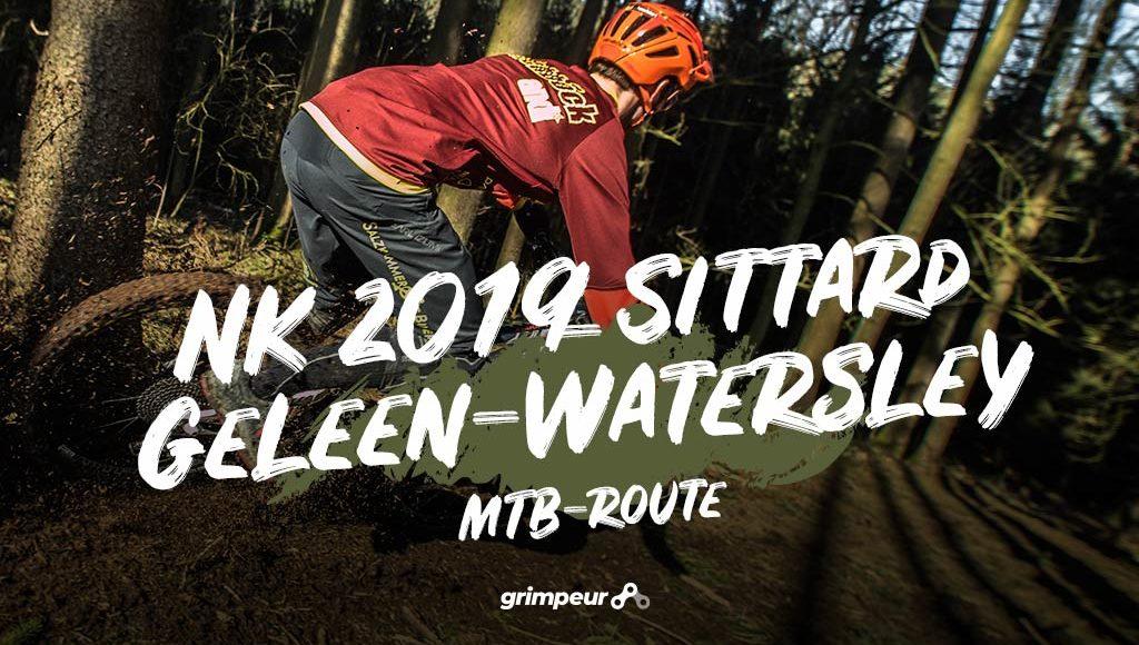 NK 2019 Sittard Geleen Watersley Mountainbikeroute