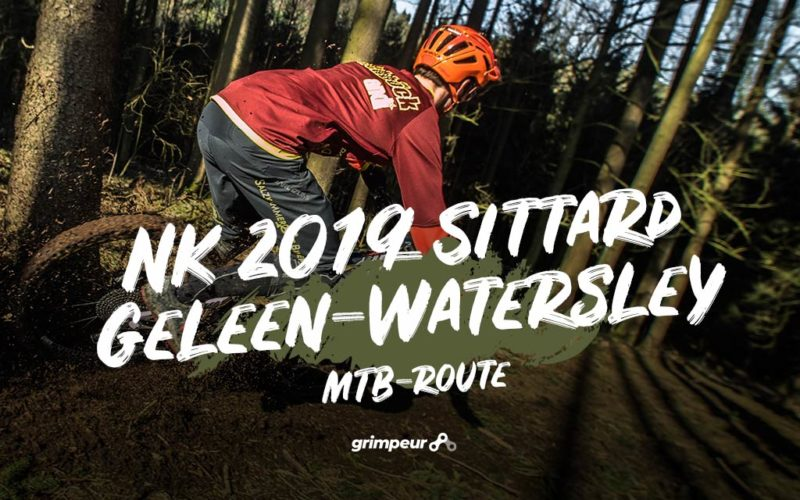 NK 2019 Sittard Geleen Watersley Mountainbikeroute