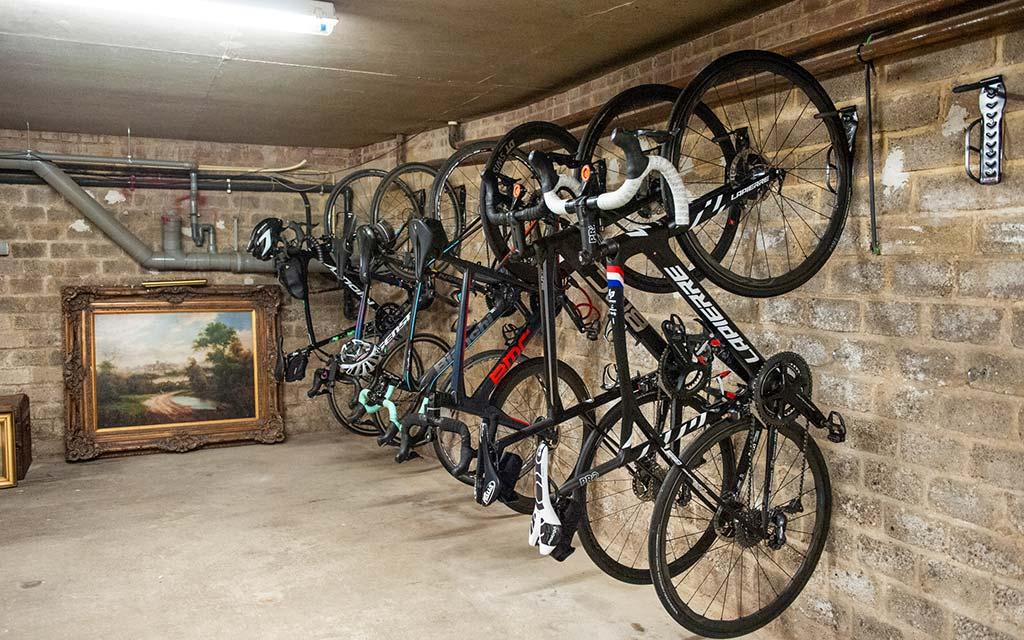afsluitbare fietskelder Brakkeberg B&B