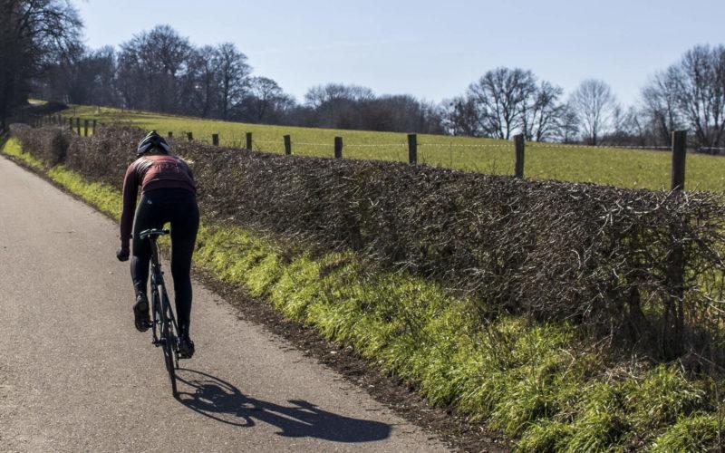 Beklimming racefiets Hegge Grimpeur